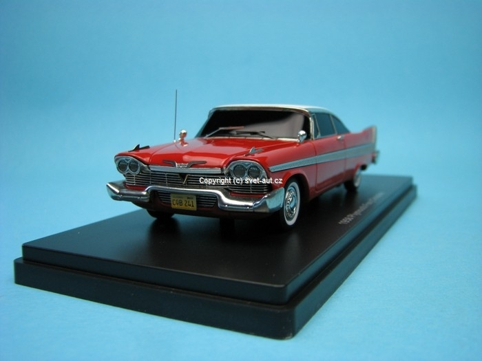 Plymouth Fury Christine 1:43 Ertl - Auto World